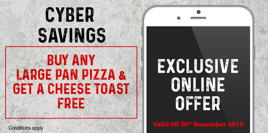 Exclusive Online Offer 1