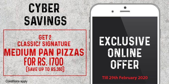 Exclusive Online Offer 2