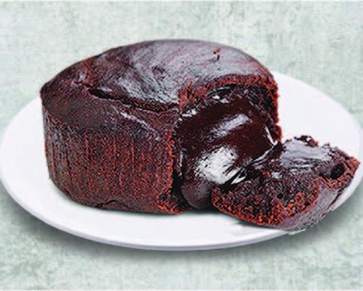 Chocolate Melt Lava Cake